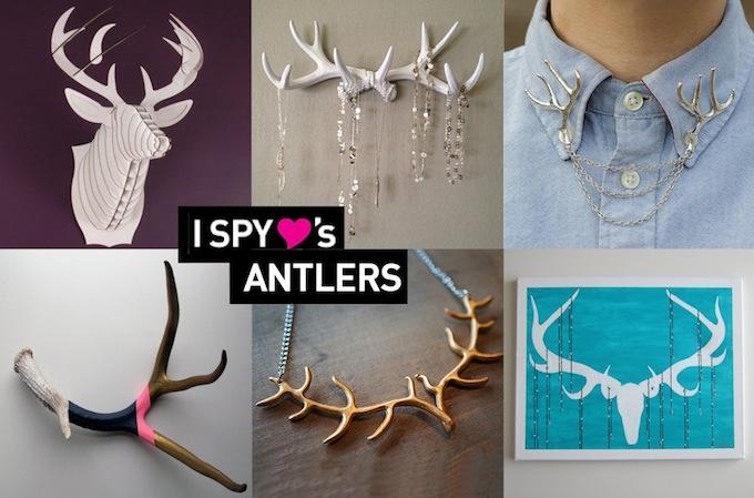 I SPY FINDS | Antlers