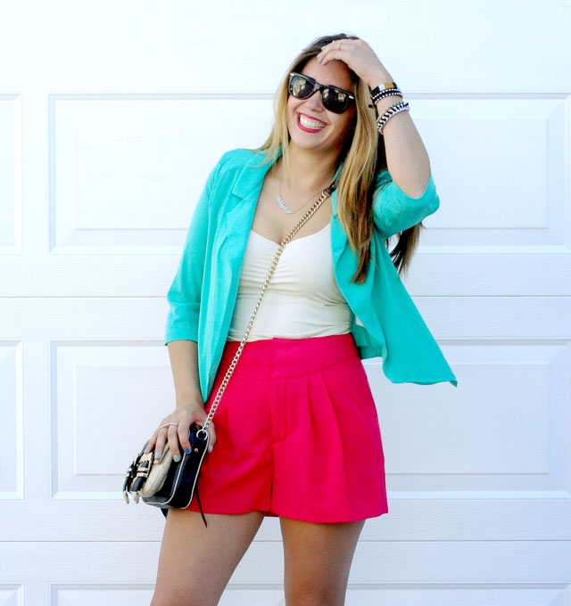 3ada421ef0d6 My Outfit | Teal and Pink
