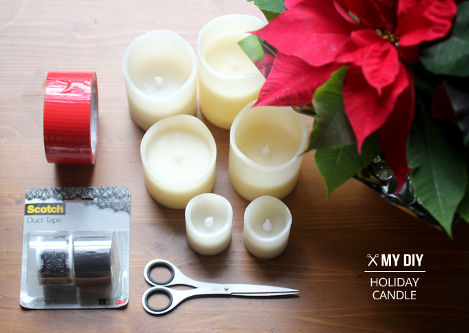 MY DIY | Holiday Candles