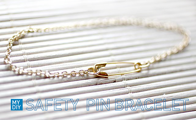 bracelet minimaliste avec une pingle nourrice plan te tutos. Black Bedroom Furniture Sets. Home Design Ideas