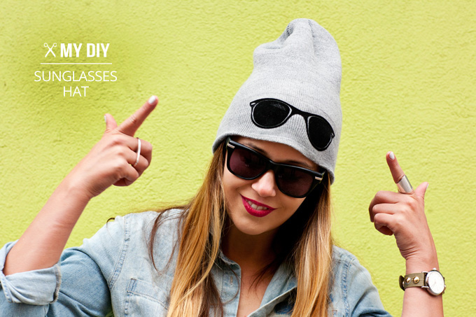 MY DIY | Sunglasses Hat