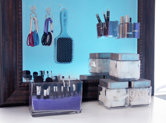 Diy beauty storage ideas for for Beauty project ideas