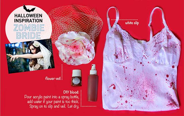 DIY Halloween | Zombie Bride