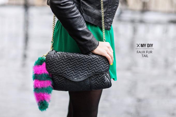 Меховой брелок на сумку своими руками: фото-мастеркласс