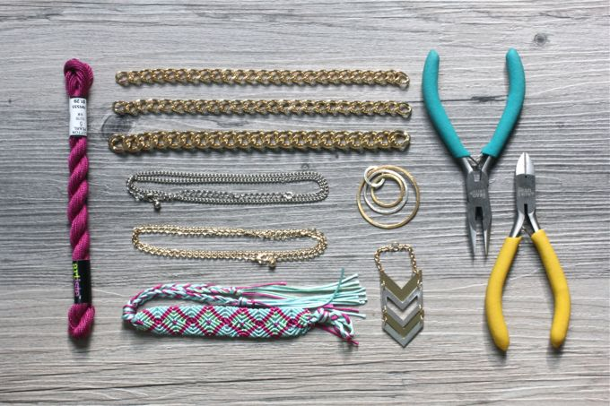 QUICK DIY | Layered Necklaces & Bracelets