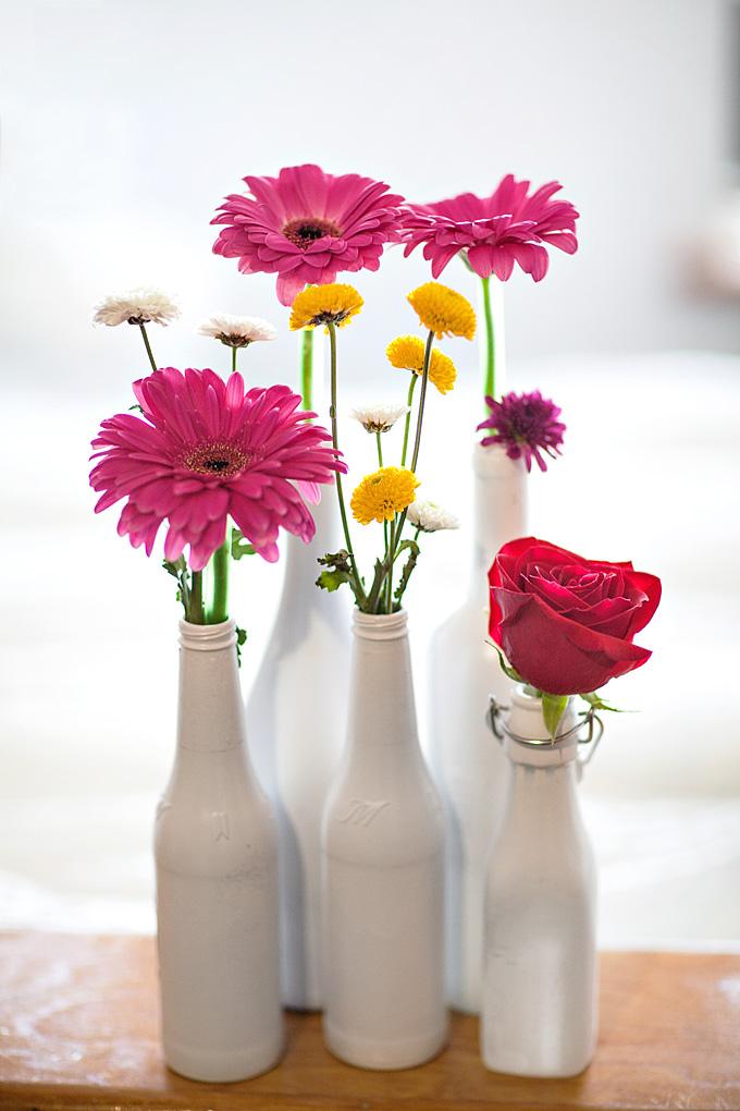 » MY DIY   Spray Painted Vase