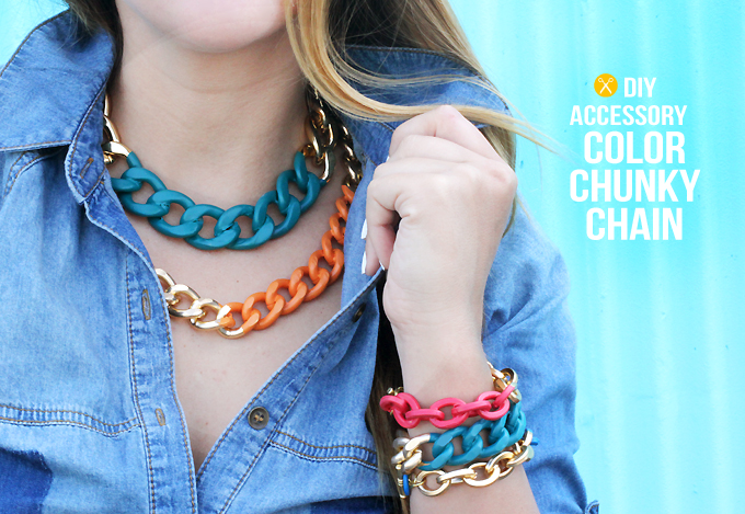 MY DIY | Bright Chain Jewelry