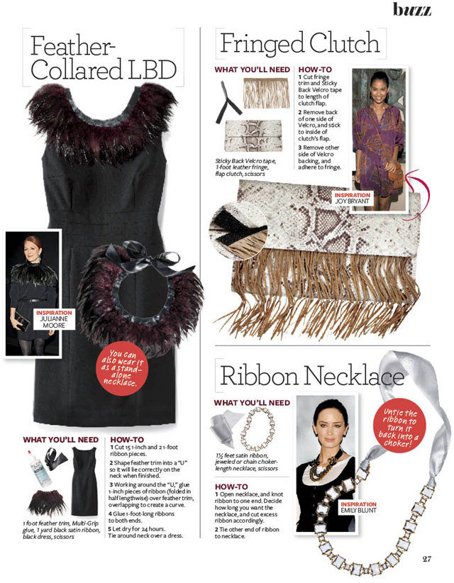 as seen in] InStyle Makeover issue