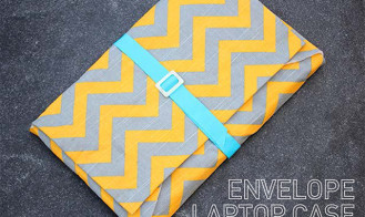 My DIY | Envelope Laptop Case