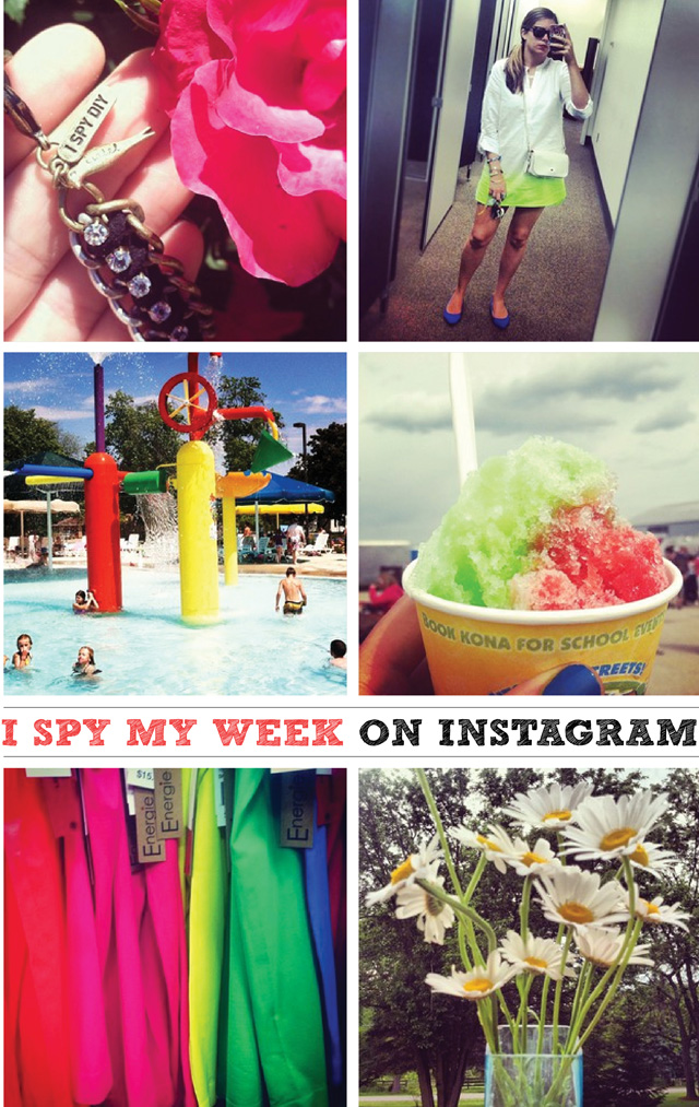 Summer is here! Follow along on Instagram at @ispydiy
