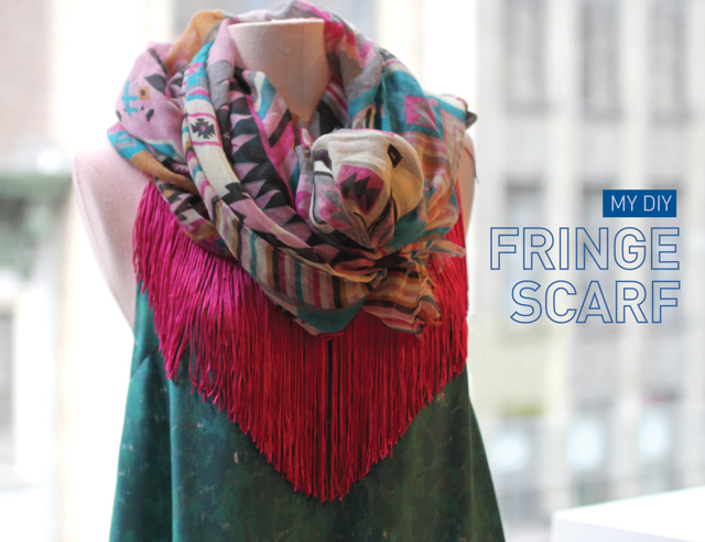 My DIY | Fringe Scarf