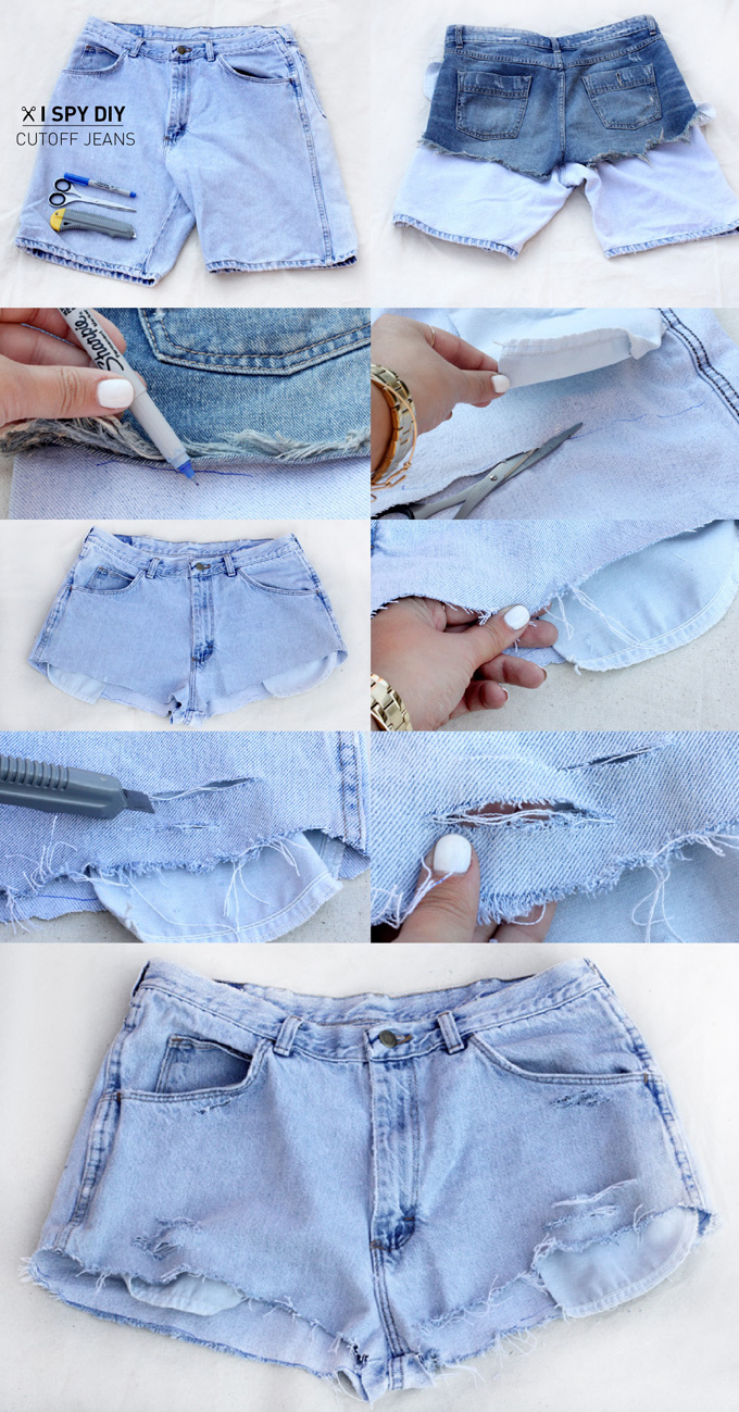 U00bb MY DIY | Cutoff Jeans