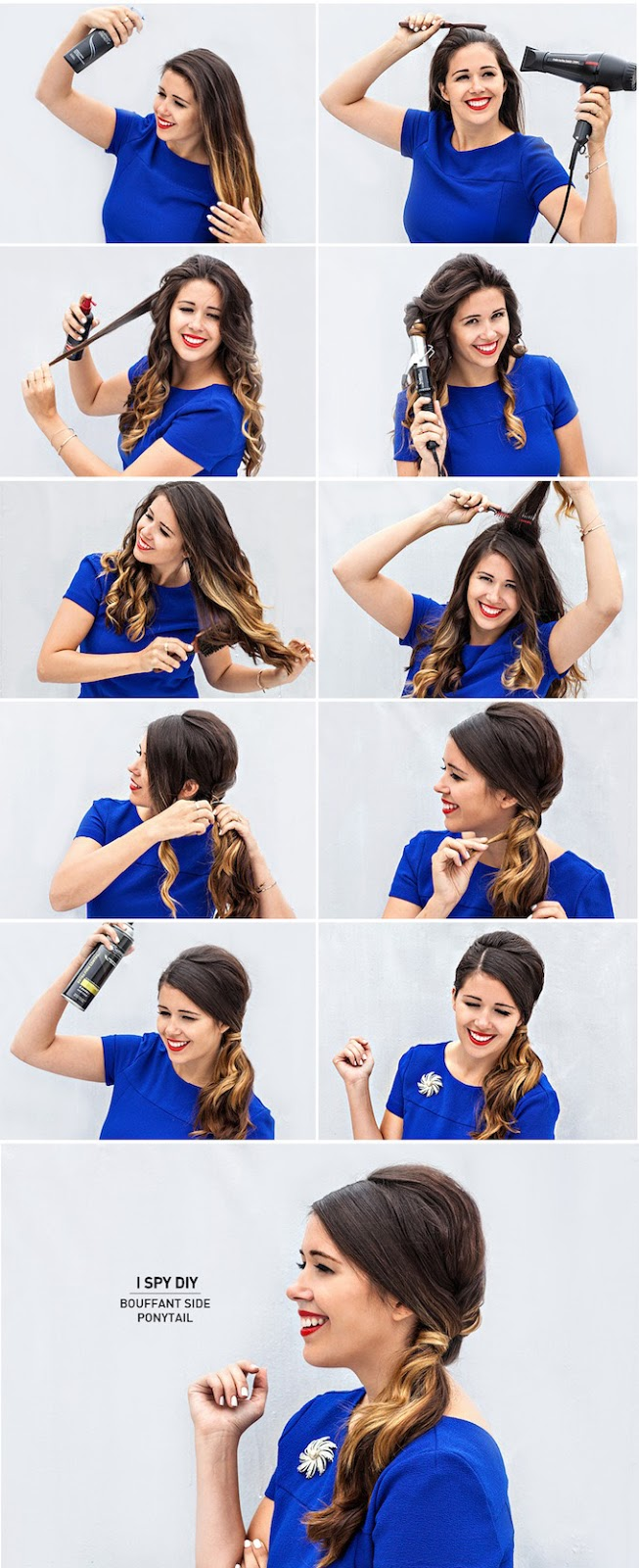 Ask The Expert Bouffant Side Pony Tail