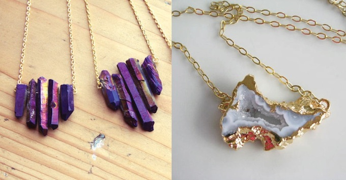 Image result for stone necklaces