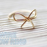 My DIY | Wire Bow Ring