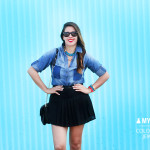 MY OUTFIT | Denim & Color Chain