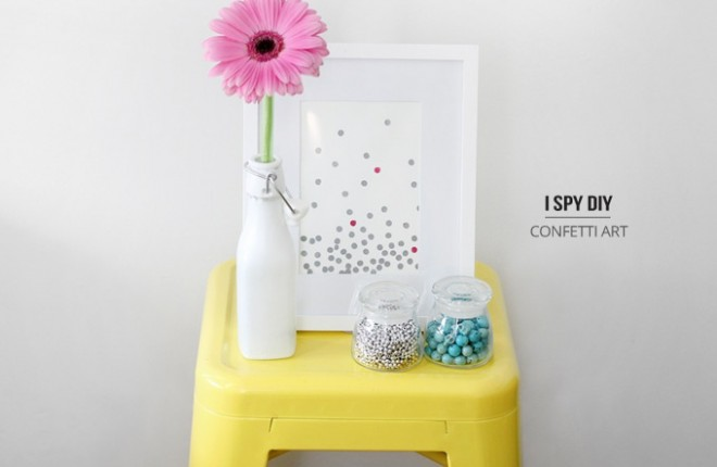 MY DIY | Confetti Art