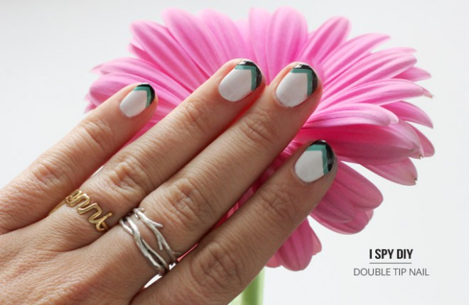 NAIL ART | Double Point