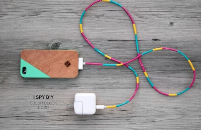 MY DIY | Color Block Cord