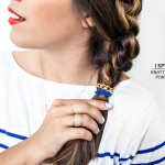 DIY HAIR | Knotted Side Ponytail