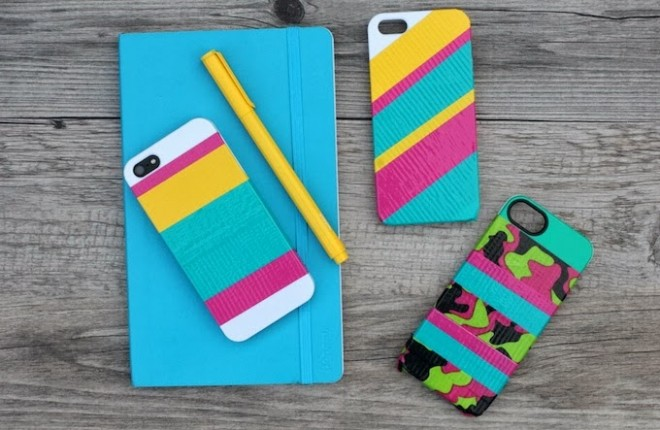 MY DIY | Striped iPhone Case