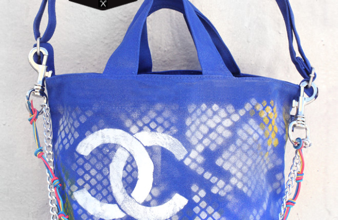 MY DIY | Chanel Inspired Graffiti Tote