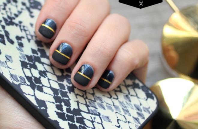 DIY NAILS | Half Matte Nails