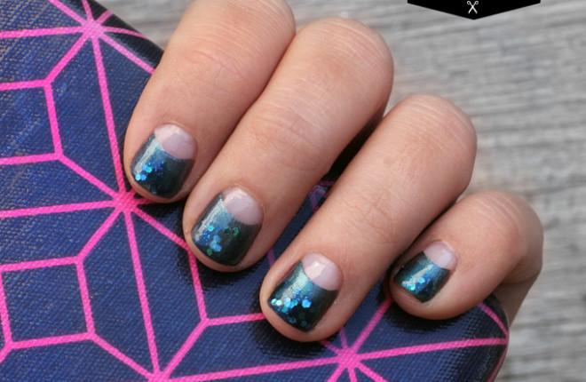 DIY NAIL | Halfmoon Shimmer