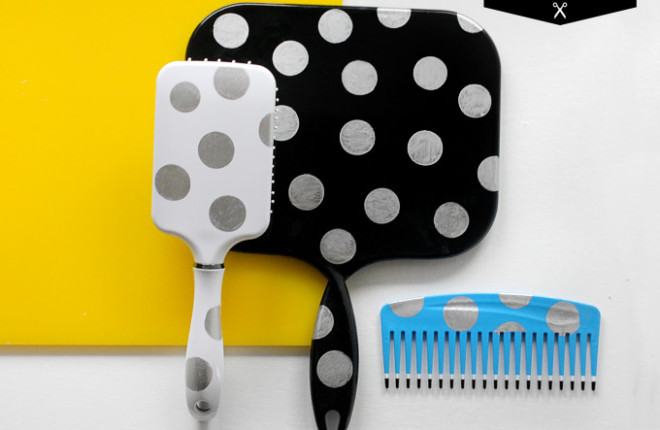 MY DIY | Dot Brush & Mirror