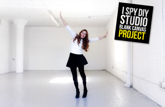 I Spy DIY Studio | Blank Canvas Project