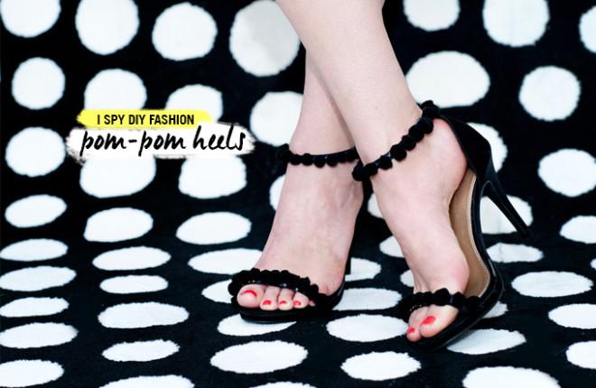 MY DIY | Pom-pom Heels