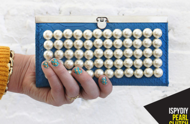 MY DIY | Pearl Clutch