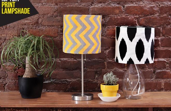 MY DIY | Print Lampshade