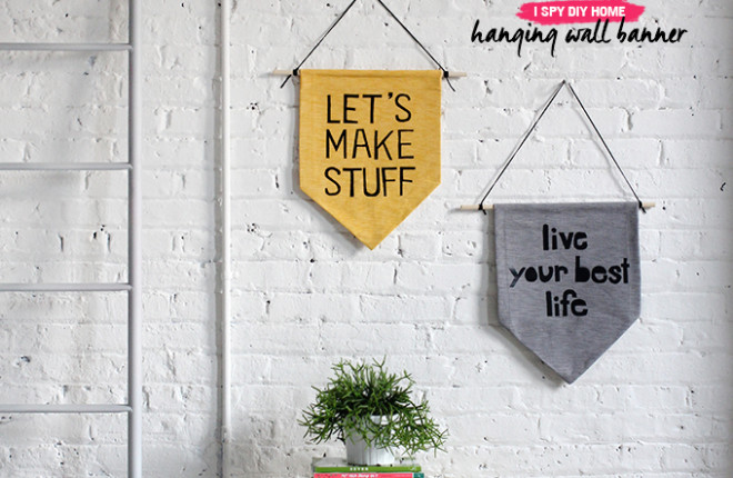MY DIY | Hanging Wall Banner