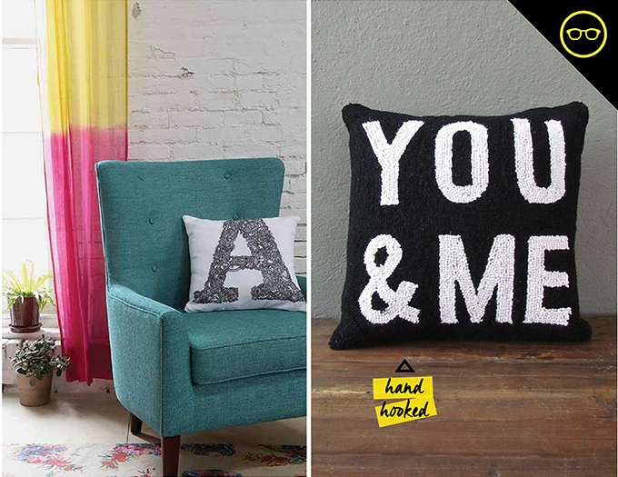DIY INSPIRATION | Letter Pillows