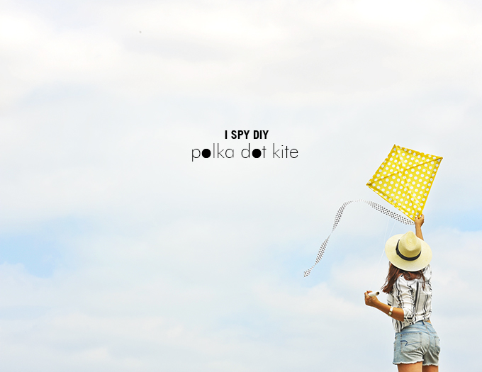 MY DIY | Polka Dot Kite