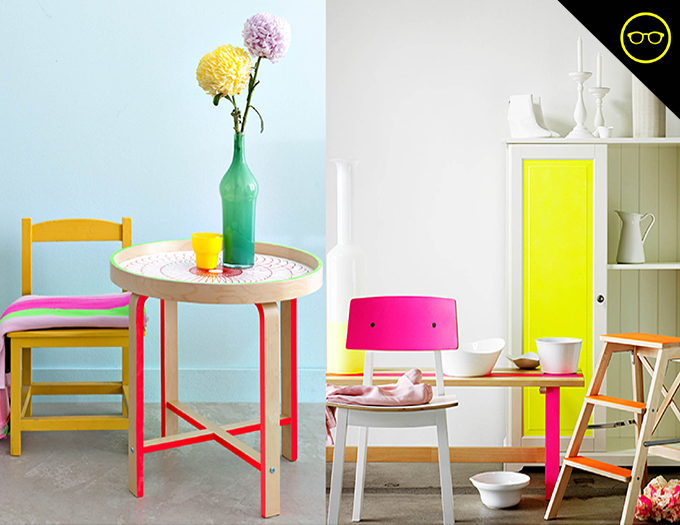 DIY INSPIRATION | Colorful Chairs