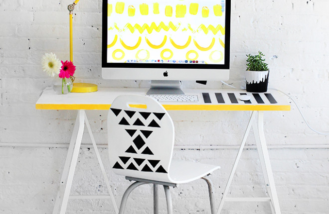 MY DIY | Graphic Desk Chair