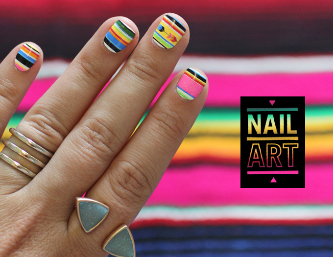 SNEAK PEEK | Summer Serape Nail Art