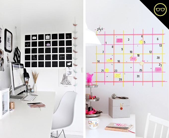 DIY INSPIRATION | Wall Calendar