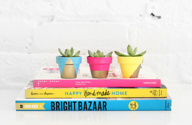 MY DIY | Tiny Neon Pots