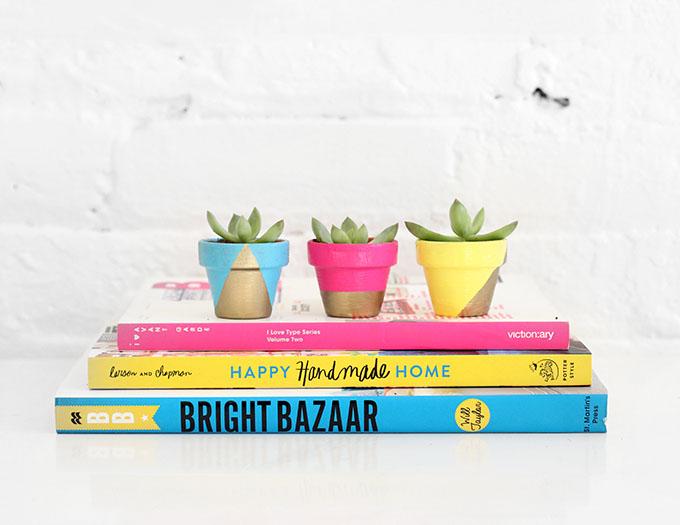 MY DIY | Tiny Neon Pots