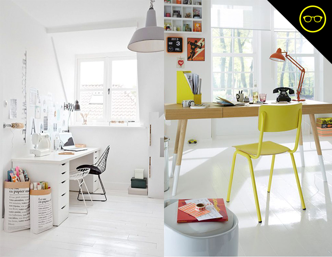 DIY INSPIRATION   White Studio Floors