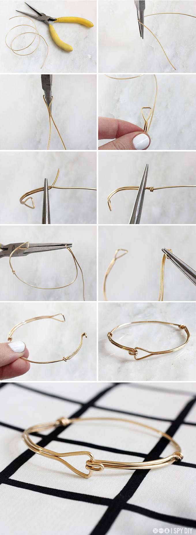 MY DIY | Triangle Wire Bracelet