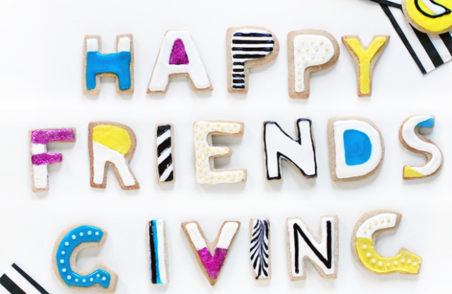 HOLIDAY DIY | Fave Friendsgiving Cookies