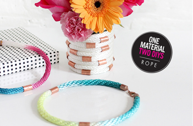 ONE MATERIAL, TWO WAYS | Cotton Rope