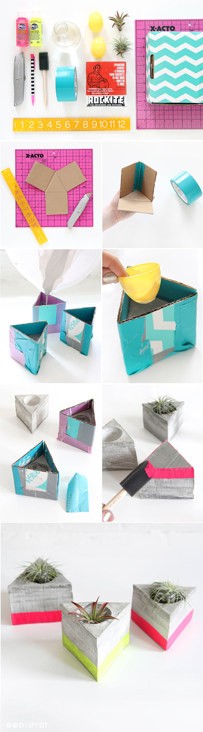 Air Plant Holder Cement