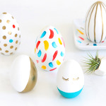 HOLIDAY DIY | Wooden Painted Eggs