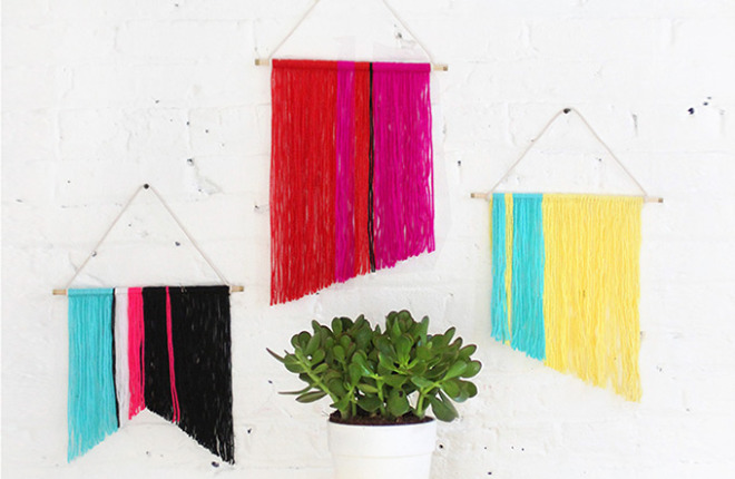 MY DIY | Mini Yarn Wall Hanging