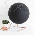 MY DIY | Copper Chalkboard Globe